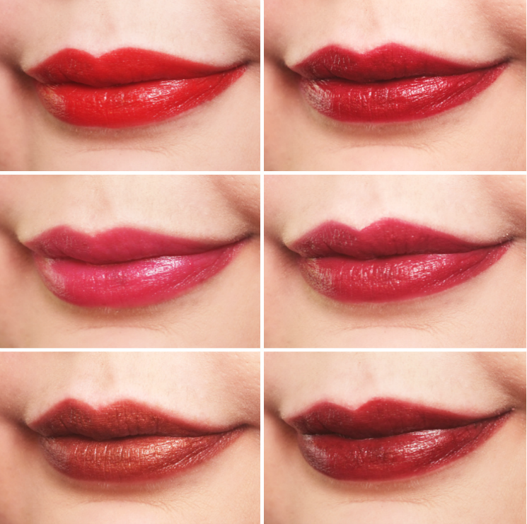 mary kay gel semi-shine lipstick group 2 (2)