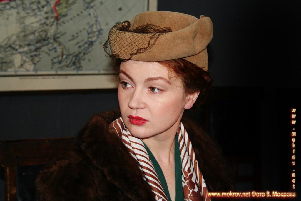 На съемках худ. фильма «Светлана» фотографии