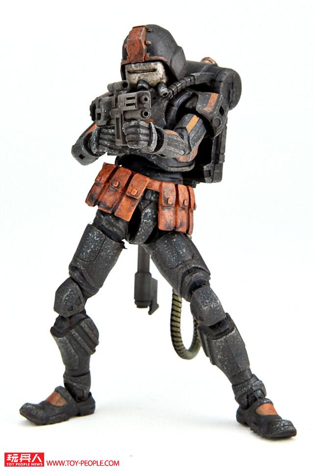 """將地獄的業火帶到人間,焚燬所有一切的地獄使者!《酸雨戰爭》地獄部隊""""火焰士兵""""(Flame trooper)開箱報告"""
