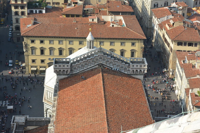 Florence, Italy - Cathedral of Santa Maria del Fiore (Il Duomo) - Brunelleschi's Dome - View from atop the Dome