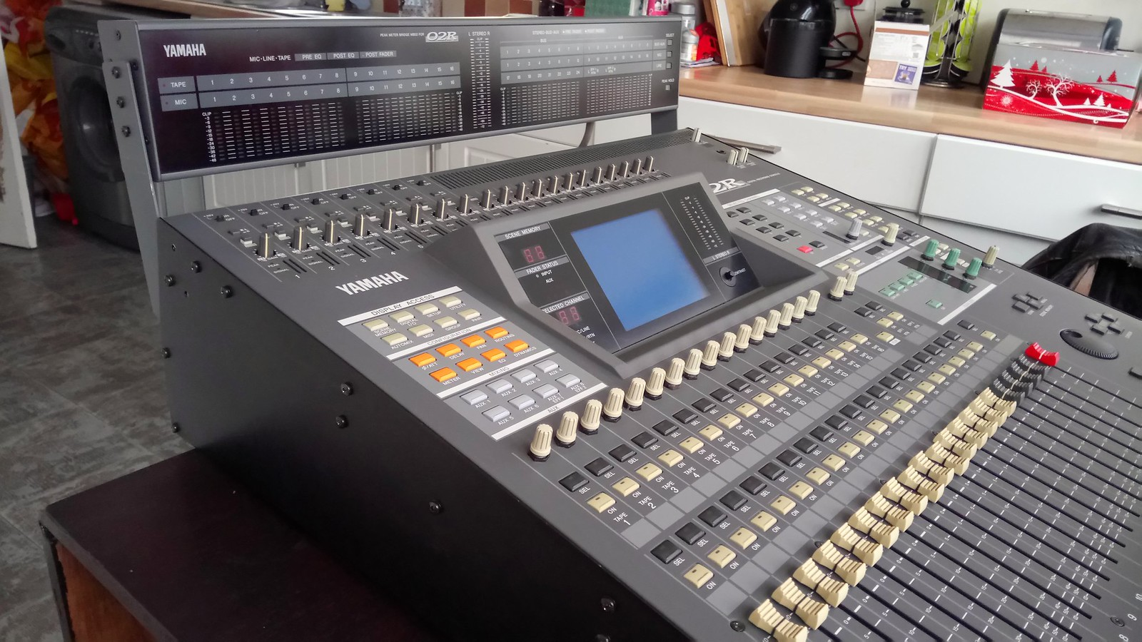 SOS Forum • Yamaha 02R digital mixing console
