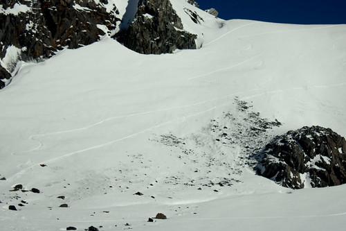 Ma trace au Col de Gébroulaz