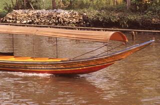 High-prowed gondola, Bangkok
