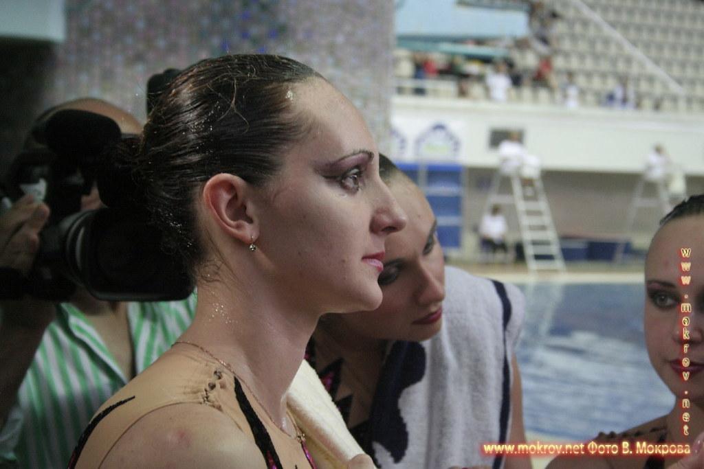Сборная команда России по синхронному плаванию портрет