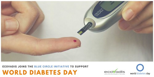 EcoVadis' support to the World Diabetes Day