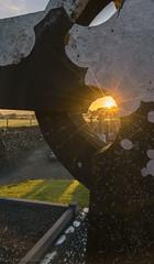 Celtic Sunrise, Aghadoe Catherdral, Killernay, County Kerry Ireland