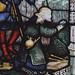 Church Eaton, Staffordshire, St. Editha, north aisle, east window, bottom, shepherds, detail