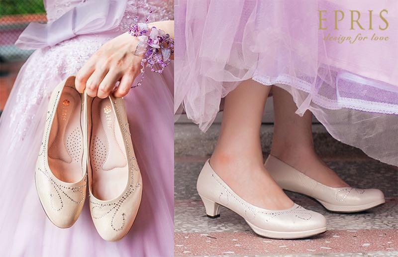裸色跟鞋,高跟鞋,女涼鞋,平價女鞋,台灣女鞋品牌,女鞋,高跟鞋推薦,圓頭高跟鞋,跟鞋推薦,艾佩絲EPRIS婚鞋