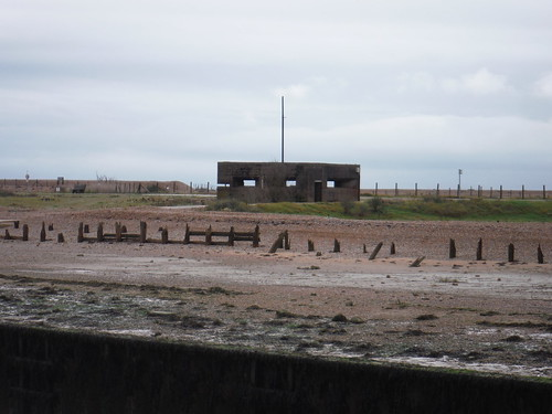 Gun Emplacement across the Rother
