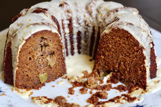 Apple Orange Rye Honey Cake - 42