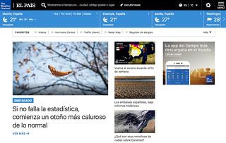 The Weather Company + PRISA Noticias