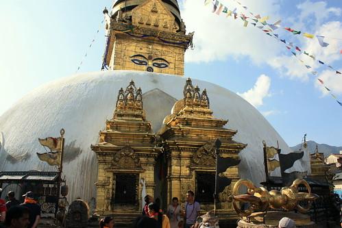 J31 : 21 octobre 2017 : Katmandou - Swayambhunath - Thamel