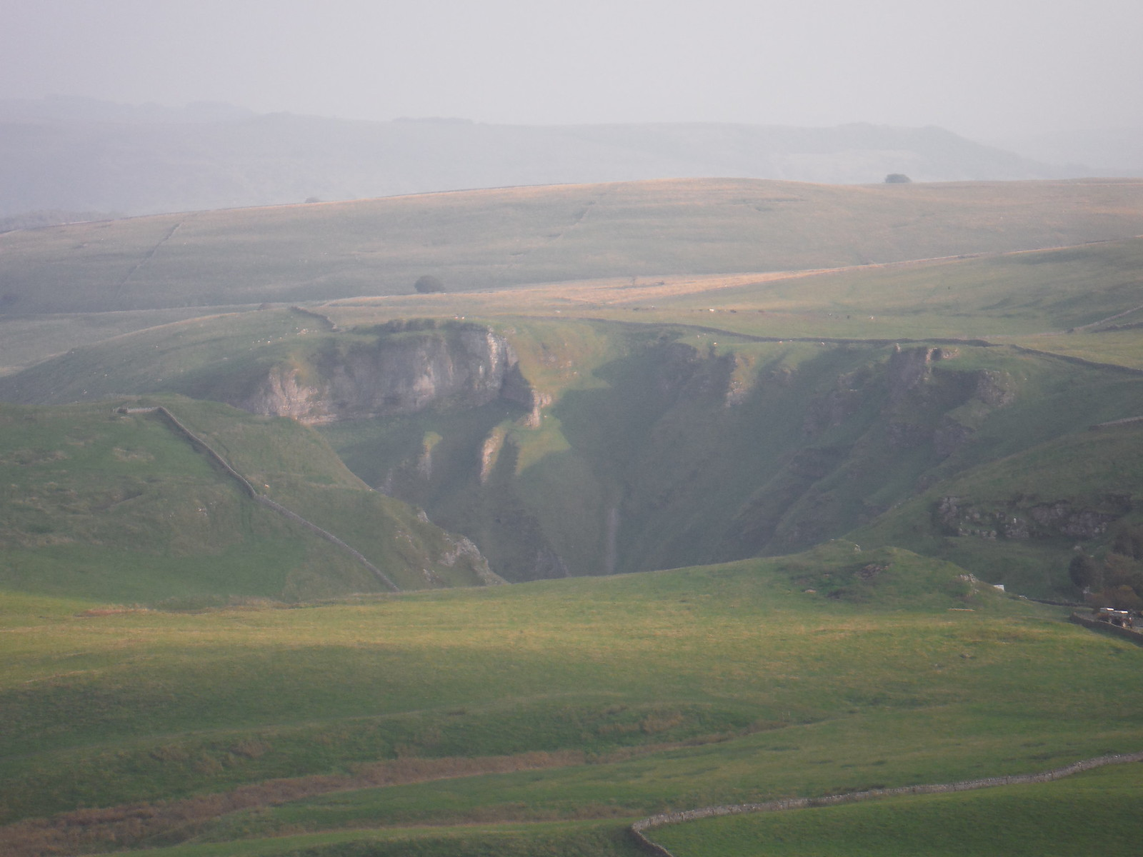 Winnats Pass from Mam Tor SWC Walk 302 - Bamford to Edale (via Win Hill and Great Ridge)