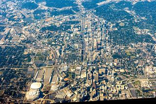 Downtown Atlanta I-85 Corridor