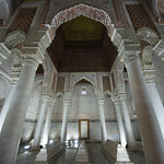 Saadian Tombs, Interior