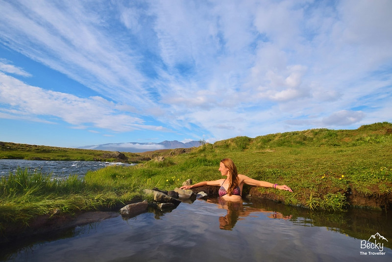 Iceland on a budget - free hot springs