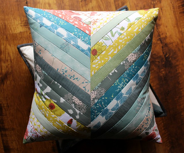 Bountiful Herringbone Pillow
