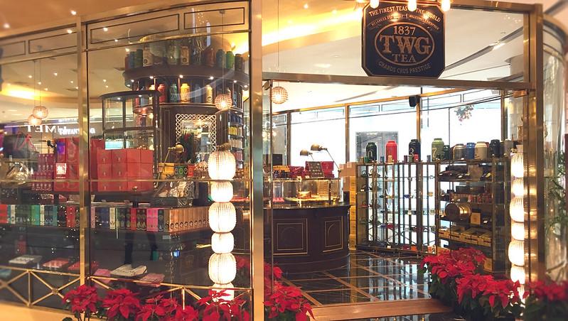 IONオーチャードのTWG紅茶店