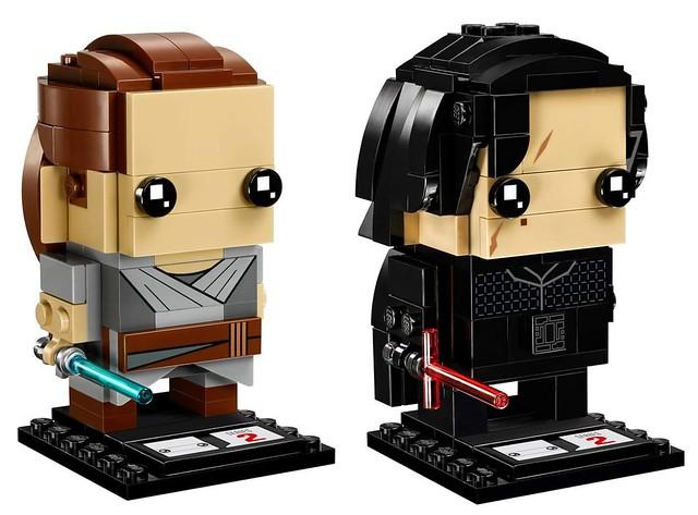41489 Brickheadz Rey & Kylo Ren 2