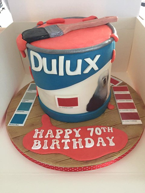 Dulux Paint Pot Cake by Ruthie Grant Cakes