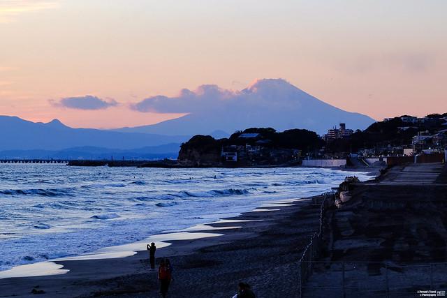 富士山 湘南海岸