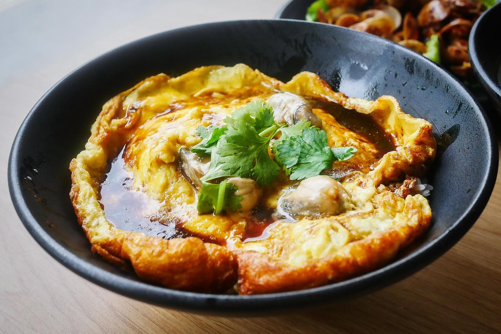 生蚝煎蛋饭