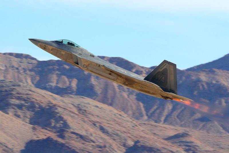 IMG_6497 F-22A Raptor Taking Off