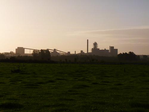 Cimenterie à Tournai