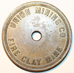 Union Mining Co Pay Check-obv