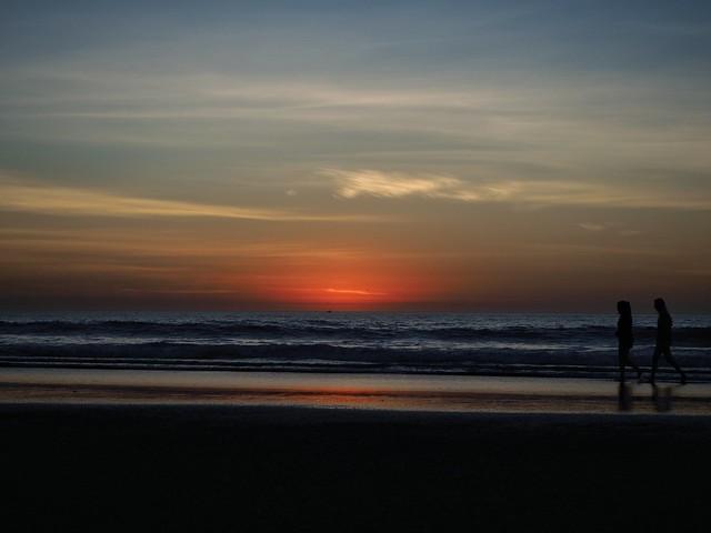 Sunset stroll. (explored)