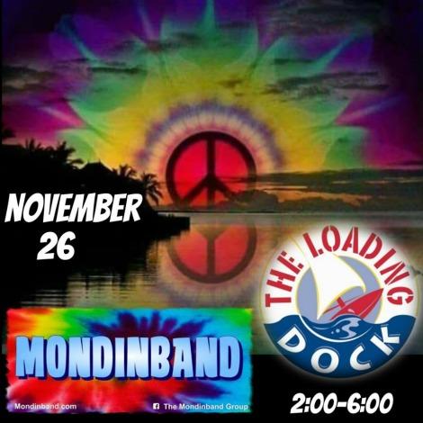 Mondinband 11-26-17