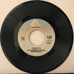 RAY PARKER JR. AND RAYDIO:A WOMAN NEEDS LOVE(JUST LIKE YOU DO)(RECORD SIDE-B)