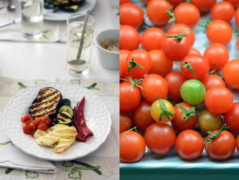 Grelhada mista vegetariana