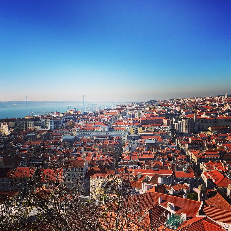 lisbon red rooftops