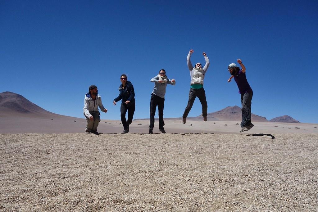 Uyuni - Desert de Salvador Dali - Jump 3