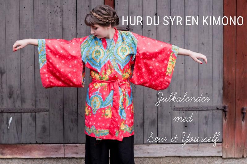 Hur du syr en kimono