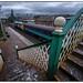 Dalston footbridge.
