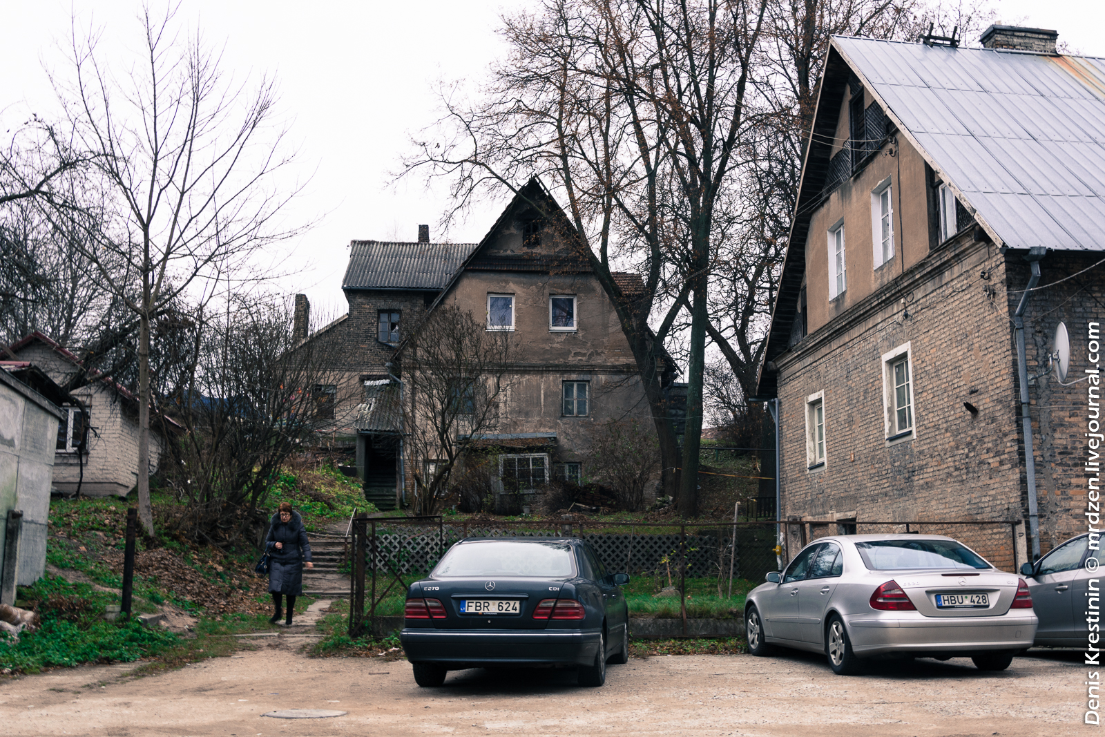 Вильнюс. Нетуристический дворик.