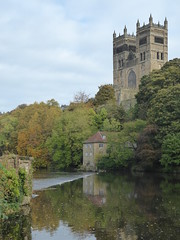 Durham: River Wear and Cathedral West Front