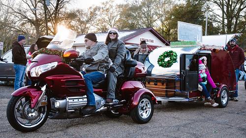 dailyindecember2017 osykachristmasparade2017 sunset trike maroon smile
