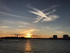 Sunset over Gosport