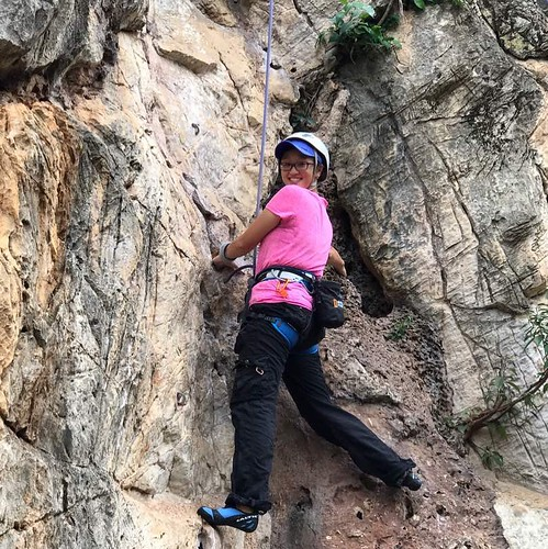 Sunday Rock Climbing with the kids