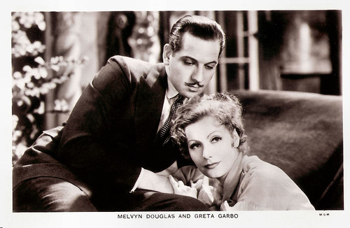 Greta Garbo and Melvyn Douglas in As You Desire Me (1932)