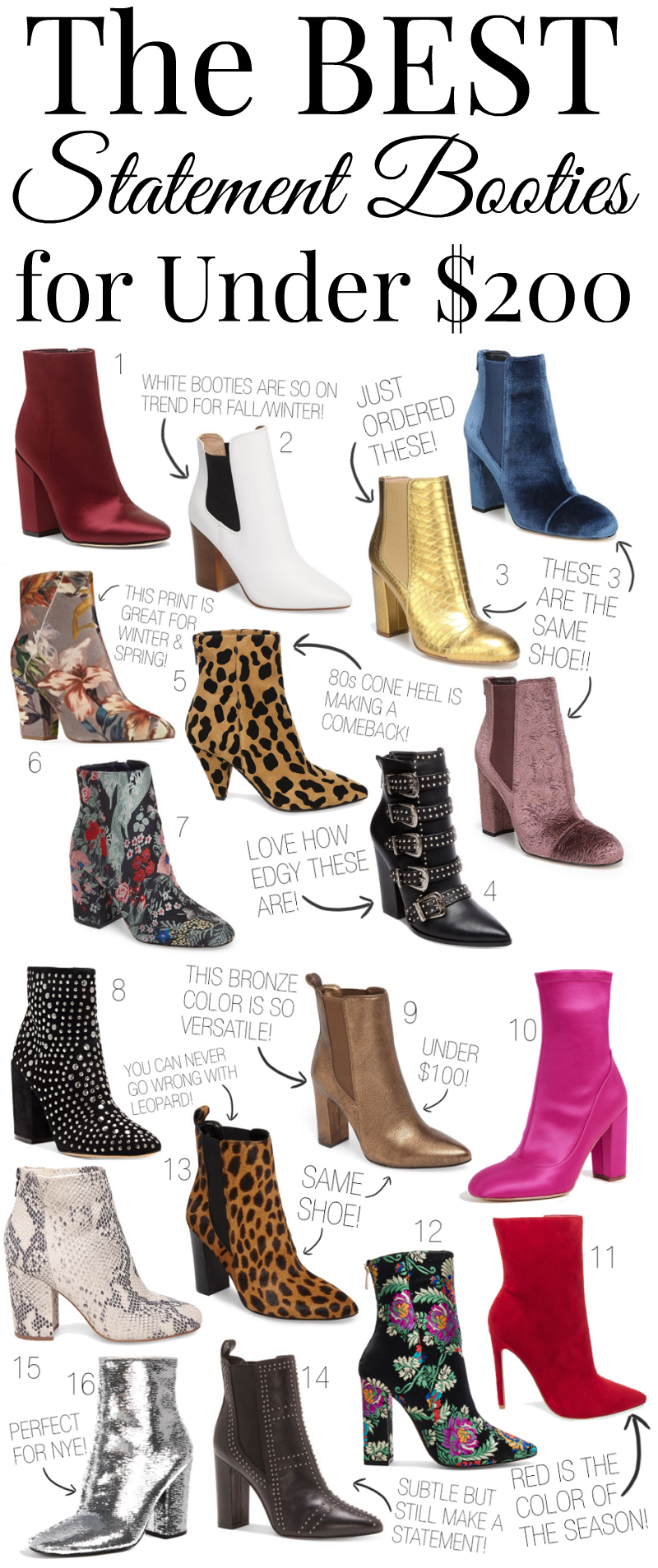 The BEST Statement Booties for Under $200 | Living After Midnite
