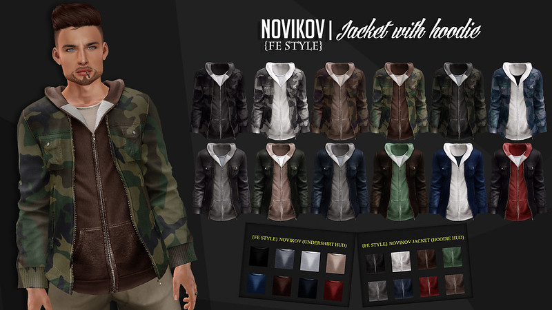 NOVIKOV JACKET W/HOODIE
