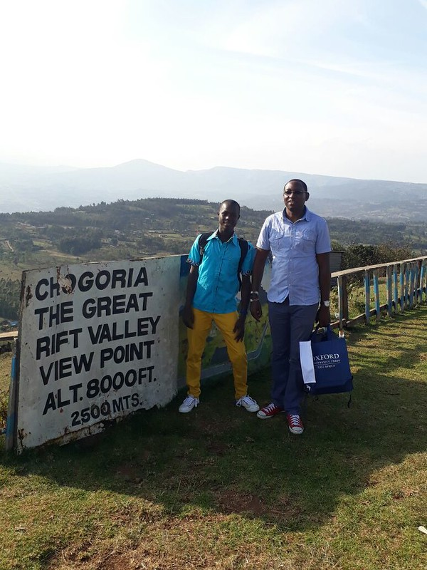 Sight seeing in the Rift Valley
