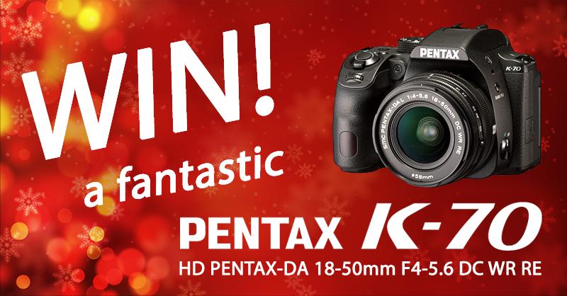 ePHOTOzine's PENTAX K-70 Christmas Prize Draw