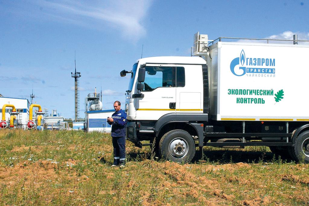 передвижная лаборатория экологического контроля Газпром
