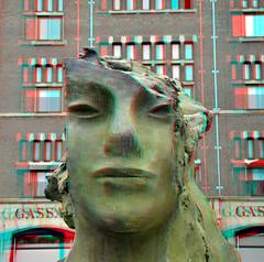 Rokin-fontein Amsterdam 3D