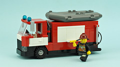 Fire &  water rescue truck